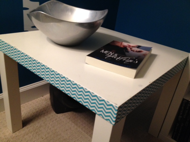 IKEA Lack Table with Duct Tape Hack!
