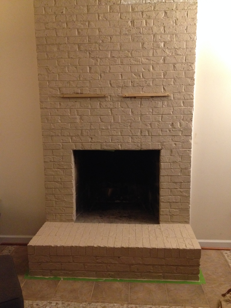 first coat fireplace